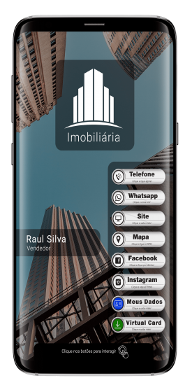 Mockup-SMARTPHONE virtual card Imobiliaria